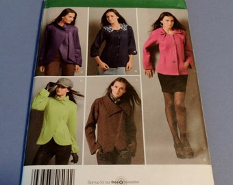 Simplicity 2504 Jacket pattern sizes 8 to 16 Uncut