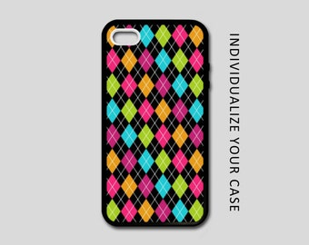 Argyle iPhone Case, Pattern iPhone Case, Argyle Samsung Galaxy Case, iPhone 6, iPhone 5, iPhone 4, Galaxy S4, Galaxy S5, Galaxy S6