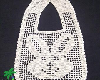 File Crochet Bib - Bunny, Crochet Pattern PDF 12-048