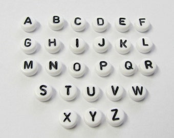 A-Z Alphabet Beads