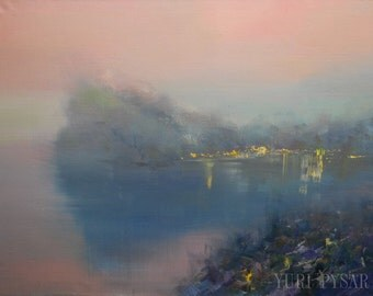 Large Oil Painting, Sea Painting, Contemporary Seascape Painting, Marine Artwork Beach Oil Art