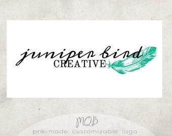 Premade Boutique Logo & Watermark - Juniper Bird