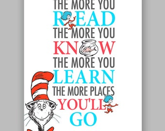 dr seuss quote cat in the hat printable nursery quote you