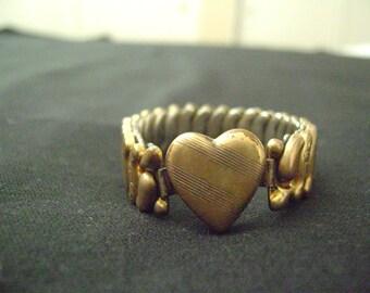 Vintage 1940's Co.Star Sweetheart Bracelet