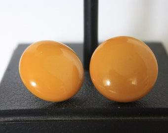 Bakelite Screw Back Earrings