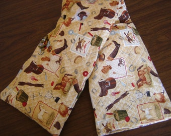Horse Equipment Quilted Print Neck Warmer Corn Cozie