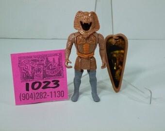 1987 Tonka SuperNaturals SnakeBite action figure