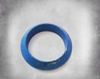 SALE - price reduced to 5 dollars only:)-Blue modern ring
