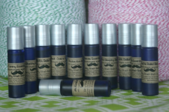 Earache Soother Blend with Organic Pure essential oils