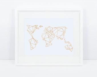 Artprint, GeoErde gold