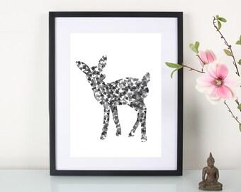 """Artprint, deer"""""""