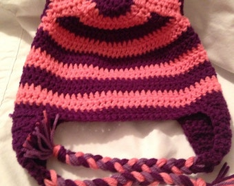Inspired Cheshire Cat Ears beanie