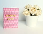 Scrabble Inspired Thank You Card, Thank You Card, Scrabble Inspired Greetings Card