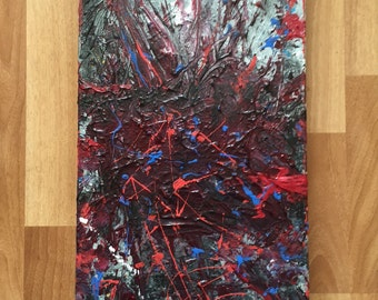 10x20 - broken hearted - abstract painting