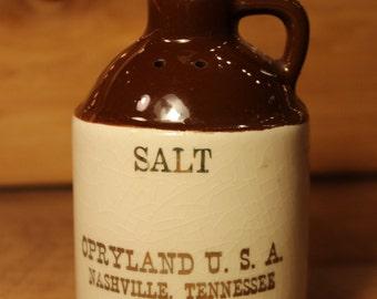 Vintage Opryland Salt Shaker, item #211