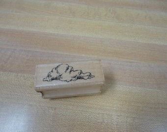 1989 Stampendous Cloud Rubber Stamp