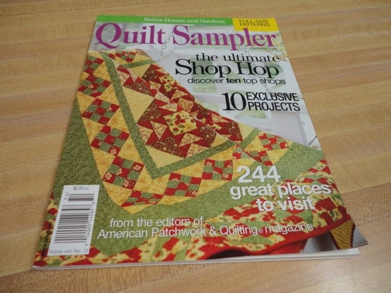 Items Similar To Better Homes And Gardens Quilt Sampler
