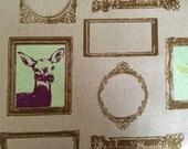 Inventory SALE Echino Decoro Frames Fabric-1 Yard