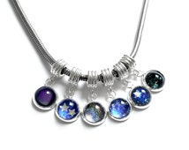 European Charms for bracelets, fits pandora bracelets pick 1 charm silverplated Cosmic galaxy inspired bracelet charms for pandora bracelet