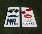 Mr & Mrs Wedding Corn Hole / BAGS