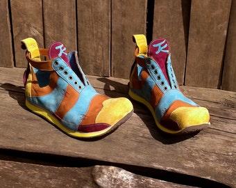 Handmade leather sneakers SUMMERTIME