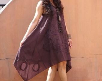 Dress   ...Summer Dress  ....Color Brown