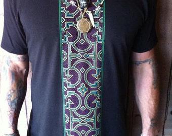 Shipbo Earth Ship / Organic Bamboo / Mens shirt / sacred geometry / Festival Shirt / Trippy shirt