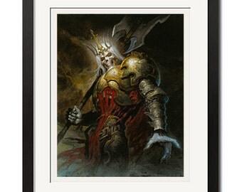Diablo King Leoric Poster Print