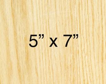5in x 5in - CUSTOM WOODBLOCK