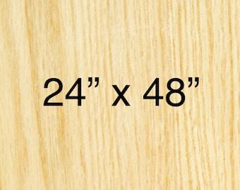 24in x 48in - CUSTOM WOODBLOCK