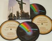 Jesus Christ Superstar Coasters vinyl record coaster set