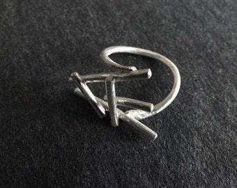 Kipenzi Huru Ring Kipenzi Huru Rings. Handmade Silver Stunning