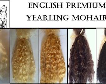 English Premium Yearling Mohair 1/4 oz  (7 g)