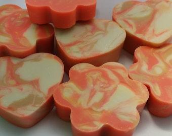 Grapefruit soap,  Natural Soap, Handmade Soap, Spa Soap, Shea Butter Soap, Artisan Soap, Cold Process Soap