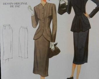Vintage Vogue re-issue pattern V1019