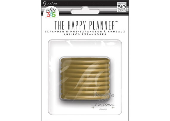 Expander rings create 365 happy planner by memoriesandpastimes for Happy planner accessories