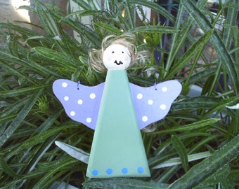 Angel with Purple Wings Hanging Ornament (17)