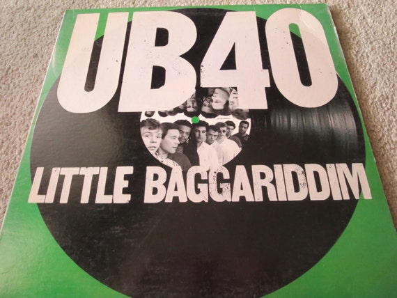 David Jones Personal Collection Record Album - UB40 - Little Baggariddim