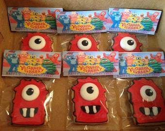 Yo Gabba Gabba! cookies