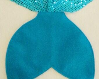 Adult / Big Kid Aqua Blue Mermaid Tail Costume (48 Inch)