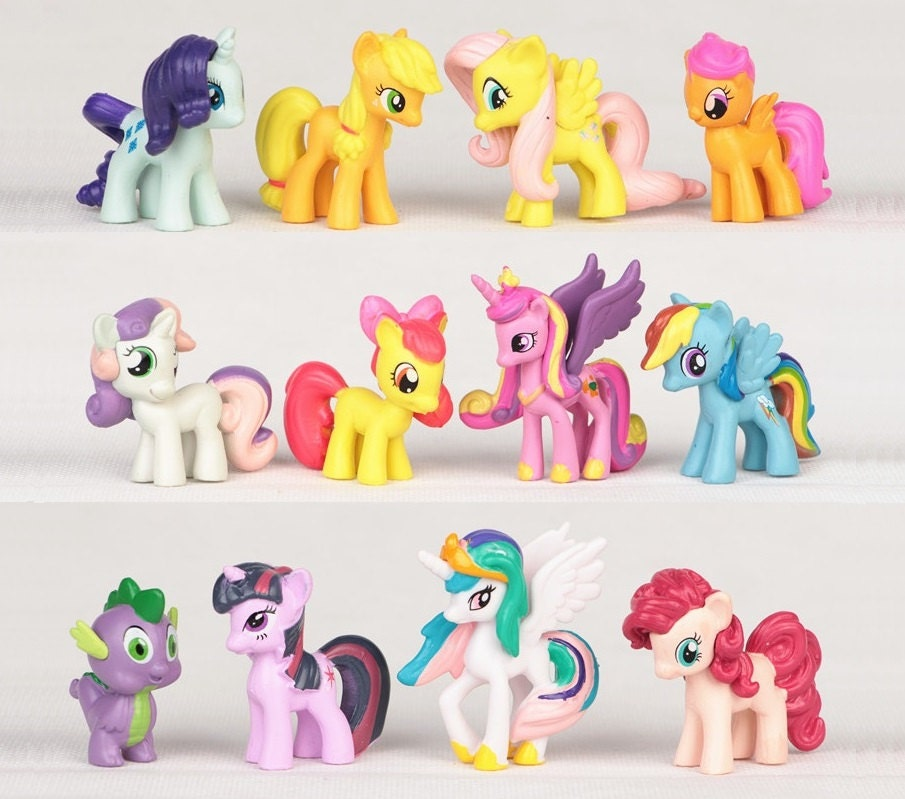 rainbow dash cake toppers