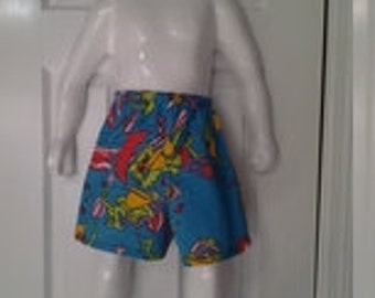Infant board shorts, size 24 months