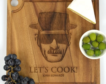 1 x Breaking Bad Inspired Engraved Chopping Board