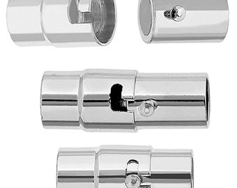 Magnetic Clasp-Tube Twist Lock