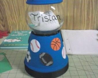 Sports Candy Jar