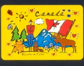 Oh Canada Playing Cards - Collage, Mixed Media, Arts and Crafts