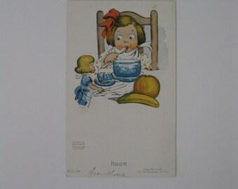 K Gassaway - Artist Signed Post Card - Noon - FL 116 - Used - 1906