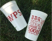 Sooie Staples Stadium Cups: Set of 4