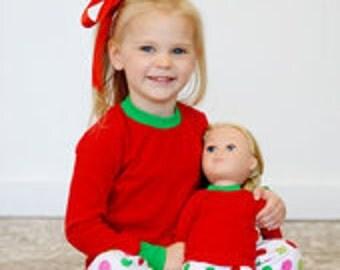 Personalized Christmas pajamas 2t