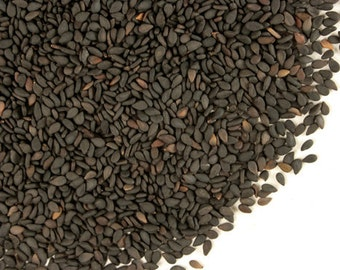 Black Sesame Seed~Whole seed 1oz bag Culinary,Medicinal Benefits & Skin Care